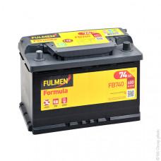 Batería de Arranque FB740 12V 74Ah 680A