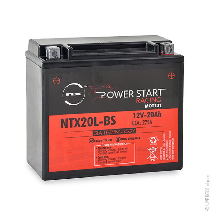 Batería moto YTX20L-BS/ WPX20LBS 12V 20Ah - MOT131