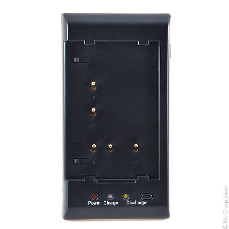 Cargador para baterías de cámara (tecnología NIMH) - VCH9001